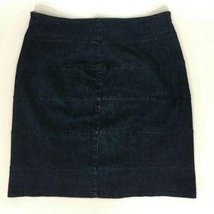 Ashley Stewart Women's Jean  Skirt Blue Size 16
